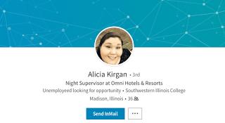 Alicia Kirgan LinkedIn