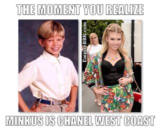 Stuart Minkus Chanel West Coast Meme