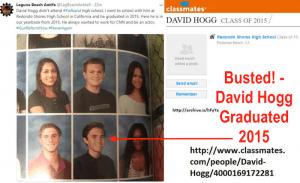 David Hogg Redono Shores High School