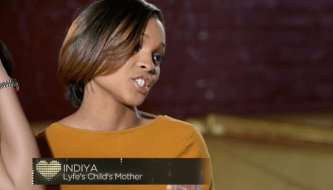 India Mendoza Lyfe Jennings Baby Mama
