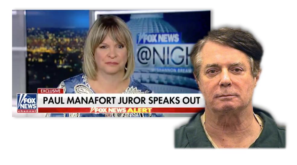 Paula Duncan Paul Manafort Juror