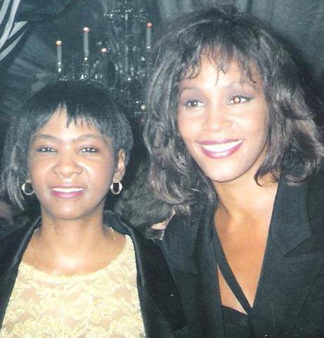 """Elizabeth """"Bethy"""" Brown Whitney Houston"""