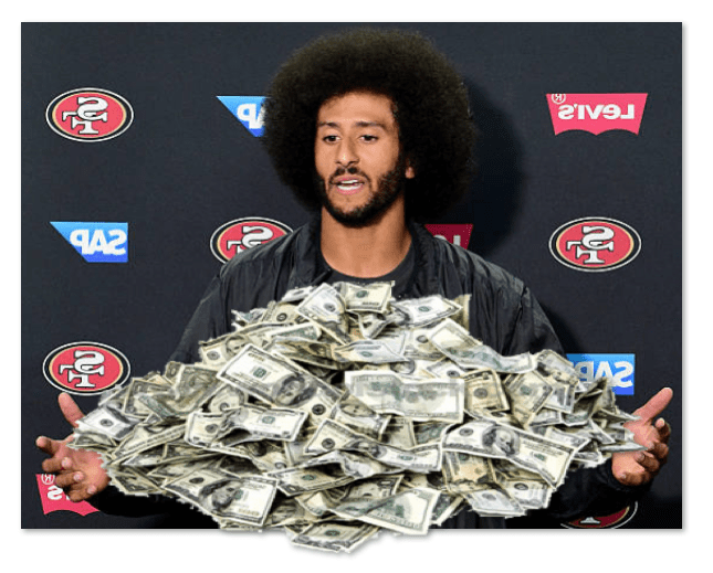 How Much Is Colin Kaepernick's Nike Contract