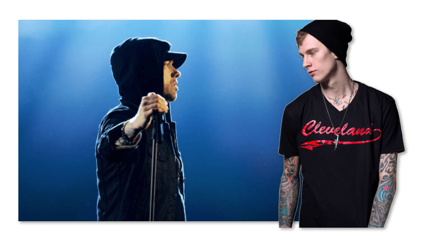 MGK Eminem Beef