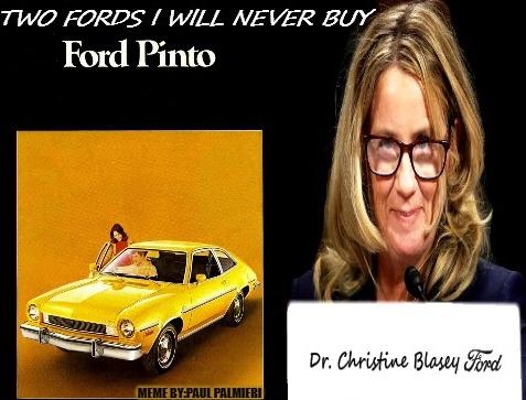 Christine Blasey Ford Meme