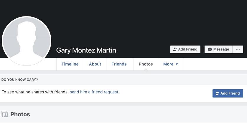 Gary Montez Martin Aurora Facebook