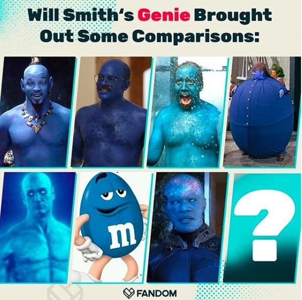 Will Smith Genie Memes