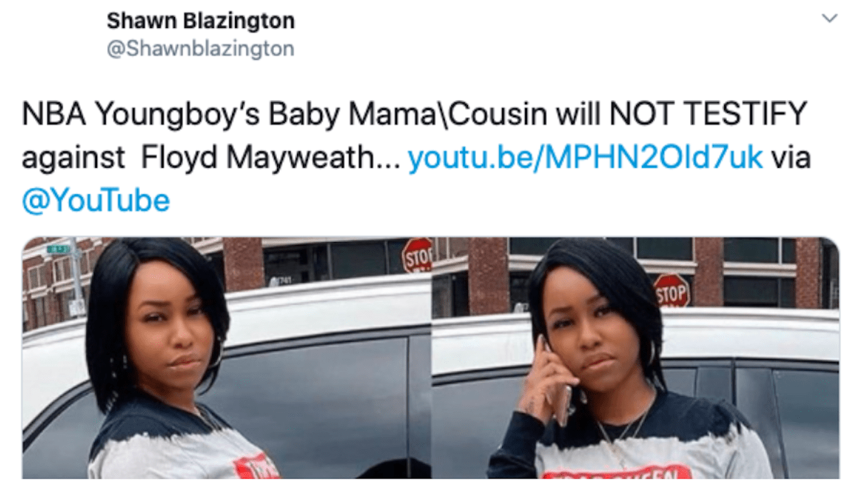 NBA YoungBoy Baby Mama His Cousin