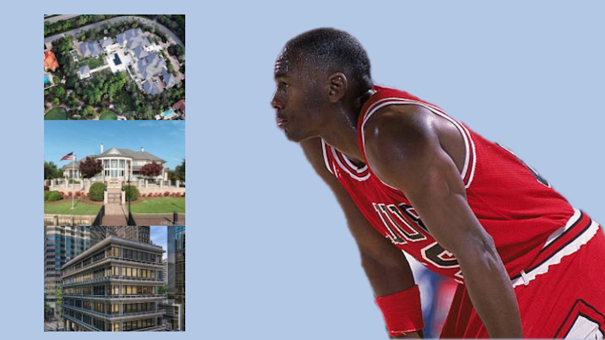 Michael Jordan Houses