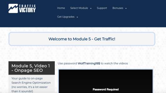 Traffic Victory Review Updated - Module 5 Get Traffic!