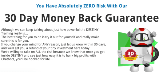 Destiny Review + BONUSES + Real World Post Launch - 30 Day Money Back Guarantee
