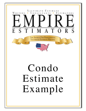 Xactimate Estimate Condo Sample