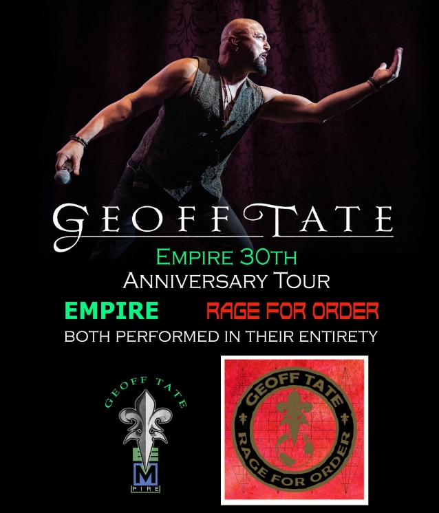 Queensryche Tour 2020 GEOFF TATE To Perform QUEENSRŸCHE's Entire 'Rage For Order' And