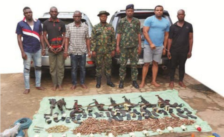 Robbery suspects arrested in ebonyi