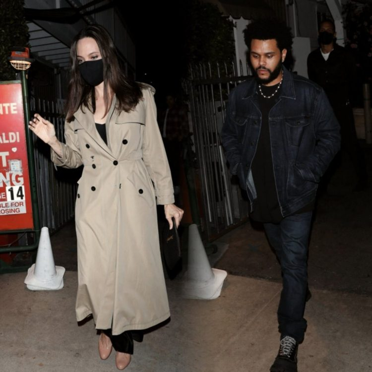 Angelina Jolie And The Weeknd Spark Dating Rumour