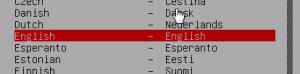 debian server install - 2