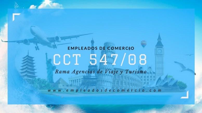 CCT 547/08 Empleados de Comercio Rama Turismo   Empleados de Comercio