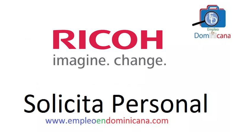 Vacante disponible en Ricoh trabajo de inmediato
