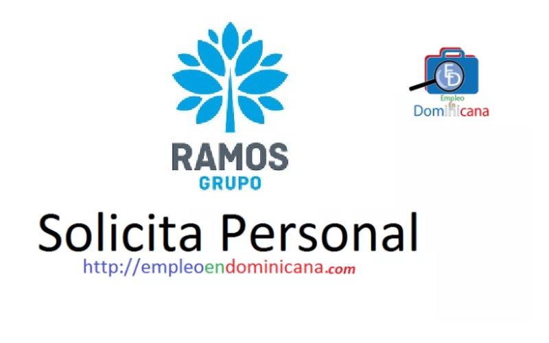 Vacante en el Grupo Ramos Republica Dominicana empleo inmediato