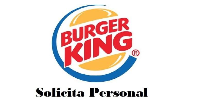 Vacante burger king