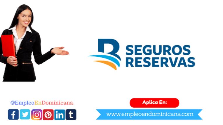 Banreservas Seguros Reservas solicita personal aplica