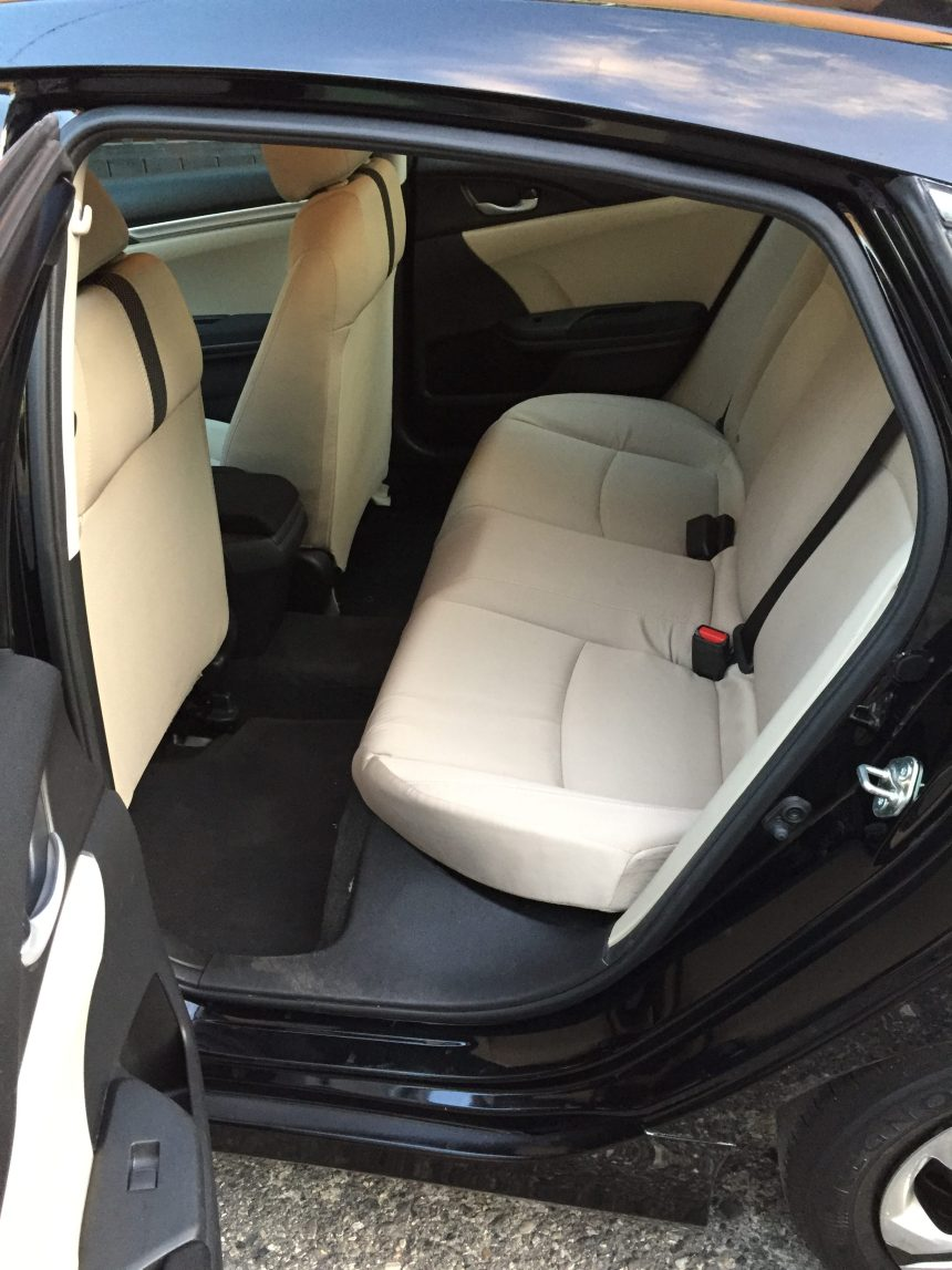 Honda civic 2016 con interior perfecto