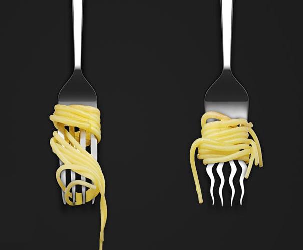 La fourchette ondulée
