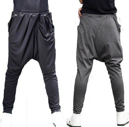 Harem Pants Font/Back View