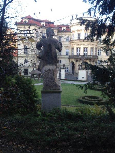 Daivd Černy Prague Sculpture Guide