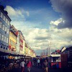 Colorful Copenhagen Harbor