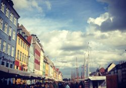 Colorful Copenhagen Harbor