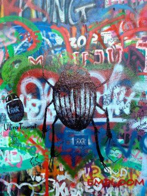 John Lennon Wall Graffiti