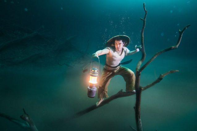 Benjamin Von Wong's Underwater River