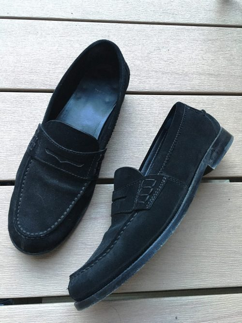 Side View of Saint Laurent Universite Loafer