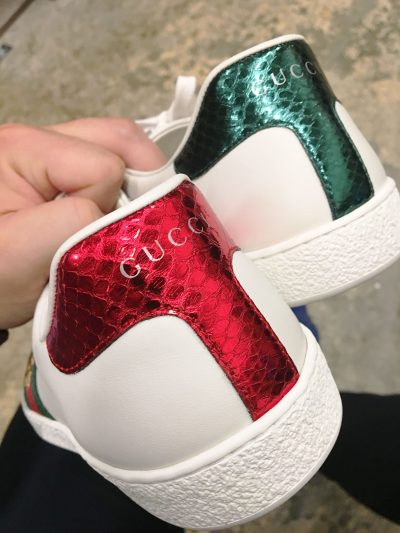 Gucci Ace Bee Heel Colors
