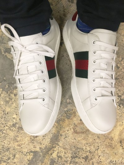Gucci Ace Sneaker Toe Box