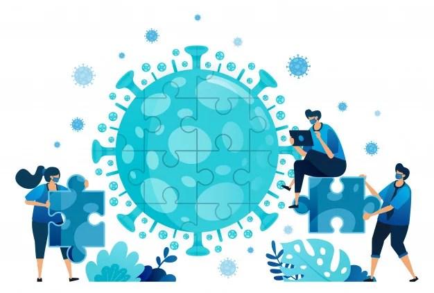 illustration-teamwork-brainstorming-solve-problems-find-solutions-during-covid-19-virus-pandemic_4968-1273
