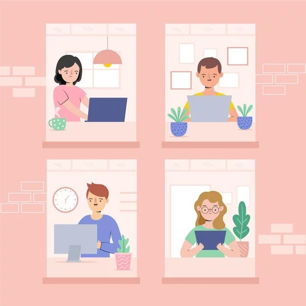 employees-working-from-home-illustration_23-2148598379