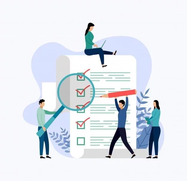 survey-report-checklist-questionnaire-business-concept-vector-illustration_114835-184