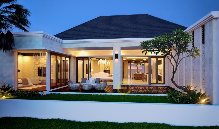 Desain Rumah Mewah 1 Dan 2 Lantai Style Villa Bali Modern Di Jakarta