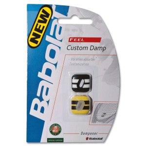 Antivibrador-Babolat-Custom-Damp-Preto-e-Amarelo