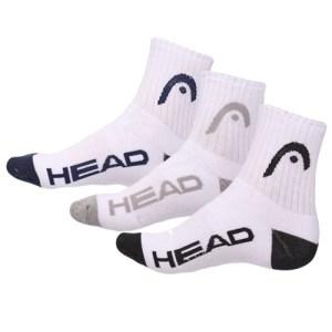 Meia Head Cano médio - Pack com 3 unidades