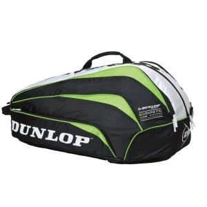 Raqueteira Dunlop Biomimetic Thermo 10 Verde