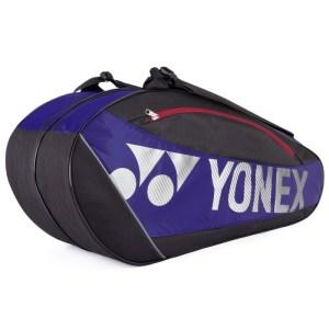 Raqueteira Yonex Club X6 Azul e Preta