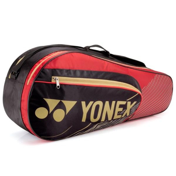 Raqueteira Yonex Performance X6 Vermelha e Preta