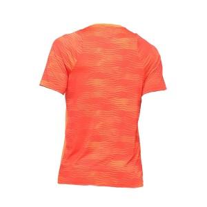 Camiseta Asics Tennis Challenger Print Masculina Laranja