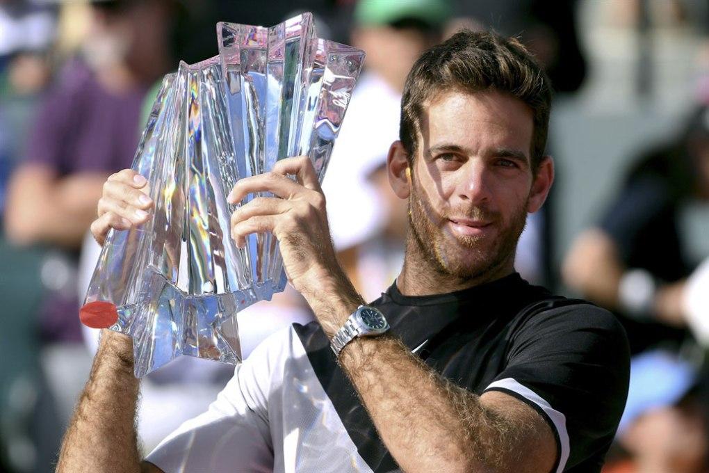 Del Potro derrota Federer e conquista Indian Wells