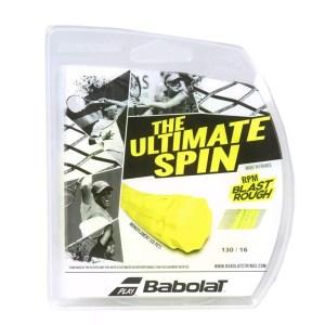 Corda Babolat RPM Blast Rough 130 Amarela