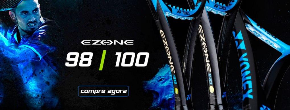 Raquetes Yonex Ezone 98 e 100