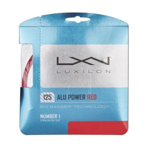 Corda Luxilon Alu Power Vermelha